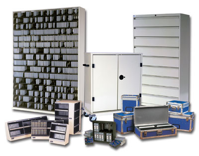 Media Shelves, Media Racks, Media Cases - Media Storage - Technology Products - GA Blanco & Sons Inc
